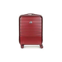 Walizki twarde Delsey  CAUMARTIN PLUS VALISE TROLLEY CABINE SLIM 4 DOUBLES ROUES 55 CM. Czerwone walizki marki Delsey. Za 706,30 zł.