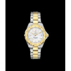 ZEGAREK TAG HEUER AQUARACER LADY QUARTZ WBD1320.BB0320. Białe zegarki damskie TAG HEUER, szklane. Za 8890,00 zł.