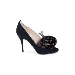 Czółenka Jerome C. Rousseau  BISOU BLOOM. Czarne buty ślubne damskie Jerome C. Rousseau. Za 1595,30 zł.