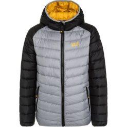 Jack Wolfskin ZENON Kurtka zimowa slate grey. Szare kurtki chłopięce zimowe marki Jack Wolfskin, z materiału. W wyprzedaży za 307,30 zł.