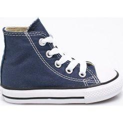 Converse - Trampki dziecięce. Szare buty sportowe chłopięce marki Converse, z materiału. W wyprzedaży za 159,90 zł.