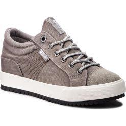 Sneakersy BIG STAR - BB274500 Grey. Szare sneakersy damskie BIG STAR, z materiału. Za 119,00 zł.
