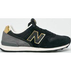 New Balance - Buty WR996FBK. Czerwone buty sportowe damskie marki New Balance, z gumy. Za 369,90 zł.