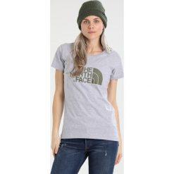 The North Face EASY Tshirt z nadrukiem mottled light grey/black. Różowe topy sportowe damskie marki The North Face, m, z nadrukiem, z bawełny. Za 129,00 zł.