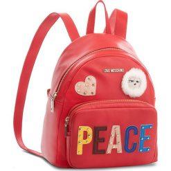 Plecak LOVE MOSCHINO - JC4270PP06KJ0 Rosso. Czerwone plecaki damskie Love Moschino, ze skóry ekologicznej, eleganckie. W wyprzedaży za 669,00 zł.