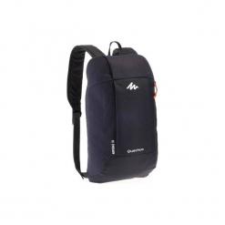Plecak turystyczny NH100 10 l. Szare plecaki męskie marki QUECHUA, z materiału. Za 12,99 zł.