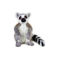 Maskotka DANTE National Geographic Lemur. Szare przytulanki i maskotki marki DANTE, z materiału. Za 76,90 zł.