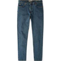 Mango Man - Jeansy Patrick2. Niebieskie jeansy męskie slim marki Mango Man, z bawełny. W wyprzedaży za 99,90 zł.