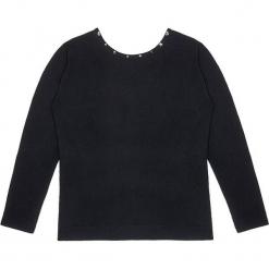 Sweter kaszmirowy w kolorze czarnym. Czarne swetry klasyczne damskie marki Ateliers de la Maille, z kaszmiru, z okrągłym kołnierzem. W wyprzedaży za 500,95 zł.