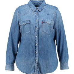 Koszule wiązane damskie: Levi's® Plus WESTERN PLUS Koszula love blue