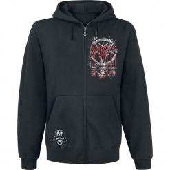 Slayer Drippin Eagle Bluza z kapturem rozpinana czarny. Czarne bluzy męskie Slayer, l, z kapturem. Za 199,90 zł.