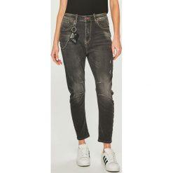 Answear - Jeansy. Szare jeansy damskie ANSWEAR. Za 199,90 zł.