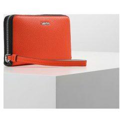 Portfele damskie: Calvin Klein EDIT LARGE ZIP AROUND Portfel orange