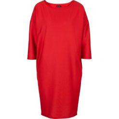 Sukienki dzianinowe: Sukienka bonprix czerwony