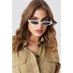 MANGO Okulary przeciwsłoneczne Alanis - White. Szare okulary przeciwsłoneczne damskie lenonki marki ORAO. Za 80,95 zł.