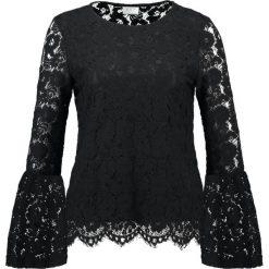 Bluzki asymetryczne: Vila VICARY BELL SLEEVE  Bluzka black