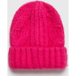 Medicine - Czapka Basic. Różowe czapki zimowe damskie MEDICINE, na zimę, z dzianiny. Za 29,90 zł.