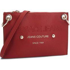 Torebka VERSACE JEANS - E1VSBBS6 70789 500. Czerwone listonoszki damskie Versace Jeans, z jeansu, na ramię. Za 619,00 zł.