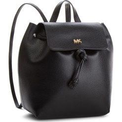 Plecak MICHAEL MICHAEL KORS - Junie 30T8TX5B2L Black. Czarne plecaki damskie MICHAEL Michael Kors, ze skóry, eleganckie. Za 1279,00 zł.