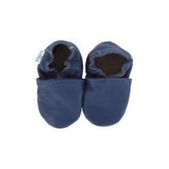 BaBice Buciki do raczkowani UNI kolor niebieski. Niebieskie buciki niemowlęce BABICE, ze skóry. Za 69,00 zł.