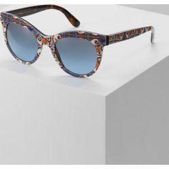 Dolce&Gabbana Okulary przeciwsłoneczne havana. Brązowe okulary przeciwsłoneczne damskie lenonki Dolce&Gabbana. Za 819,00 zł.