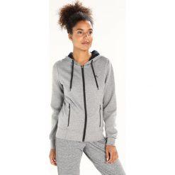 Bluzy rozpinane damskie: Only Play ONPFIONA ZIP Bluza rozpinana medium grey melange