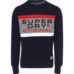 Superdry - Męska bluza nierozpinana, niebieski. Niebieskie bluzy męskie rozpinane Superdry, m, z nadrukiem. Za 299,95 zł.