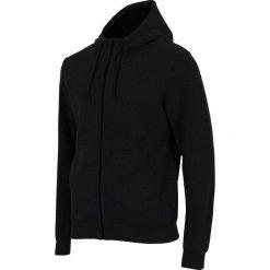 Bluzy męskie: 4f Bluza męska czarna r. S (H4Z17-BLM002Z)