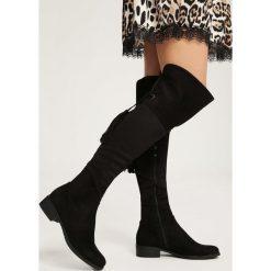 Czarne Kozaki Like Gracious. Czarne buty zimowe damskie marki Kazar, ze skóry, na wysokim obcasie. Za 139,99 zł.