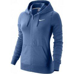 Nike Bluza W Nsw Hoodie Fz Jrsy Blue L. Niebieskie bluzy rozpinane damskie marki Nike, l, z kapturem. W wyprzedaży za 159,00 zł.