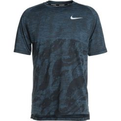 Koszulki polo: Nike Performance DRY MEDALIST Tshirt z nadrukiem black/blue force/reflective silver