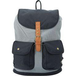 Plecaki męskie: Plecak w kolorze szaro-czarnym – 40 x 31 x 16 cm