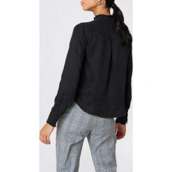 Bluzki asymetryczne: Rut&Circle Bluzka Pauline - Black