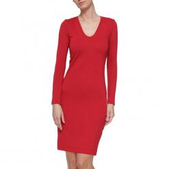 Sukienka w kolorze czerwonym. Czerwone długie sukienki marki YULIYA BABICH, xs, z długim rękawem. W wyprzedaży za 99,95 zł.