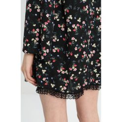 Sukienki hiszpanki: 12 Midnight FLUTED SLEEVES & LACE TRIM Sukienka koszulowa black