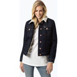 Tommy Jeans - Damska kurtka jeansowa, niebieski. Niebieskie bomberki damskie Tommy Jeans, l, z jeansu. Za 649,95 zł.