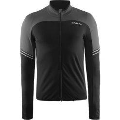 Bejsbolówki męskie: Craft Bluza rowerowa męska Velo Thermal Jersey czarna r. S