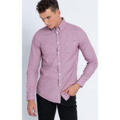 Trussardi Jeans - Koszula. Różowe koszule męskie jeansowe marki Trussardi Jeans, m, w kratkę, button down, z długim rękawem. W wyprzedaży za 279,90 zł.