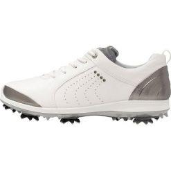 Buty sportowe damskie: ecco BIOM G2 Obuwie do golfa white/silver