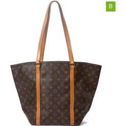 "Shopper bag damskie: Shopper bag ""Sac Shopping PM"" w kolorze brązowym – 50 x 39 x 34 cm"