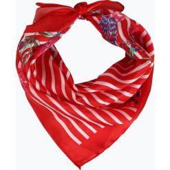 Marie Lund - Chusta damska, czerwony. Czerwone chusty damskie Marie Lund, z nadrukiem. Za 19,95 zł.