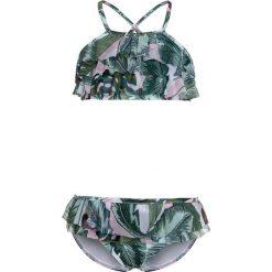 Stroje jednoczęściowe dziewczęce: Seafolly FRILL TANKINI Kostium kąpielowy green
