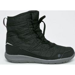 Jack Wolfskin - Buty. Czarne buty trekkingowe damskie marki Jack Wolfskin, w paski, z materiału. Za 499,90 zł.