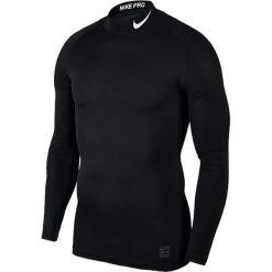 Nike Koszulka męska M NP TOP LS Comp MOCK  czarna r. XXL (838079 010). Czarne koszulki sportowe męskie Nike, m. Za 119,45 zł.