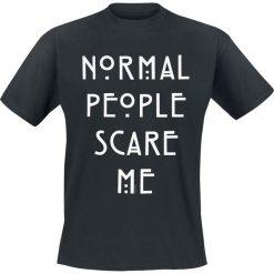 T-shirty męskie z nadrukiem: American Horror Story Normal People T-Shirt czarny