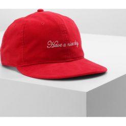 Rag & bone DYLAN BASEBALL  Czapka z daszkiem red. Czerwone czapki z daszkiem męskie rag & bone, z bawełny. Za 459,00 zł.