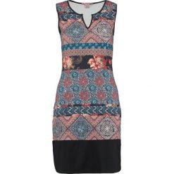 Sukienki: Anna Field Sukienka z dżerseju cognac/turquoise