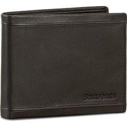 Duży Portfel Męski SAMSONITE - 001-01460-0274-01 Black. Czarne portfele męskie marki Samsonite, ze skóry. Za 159,00 zł.
