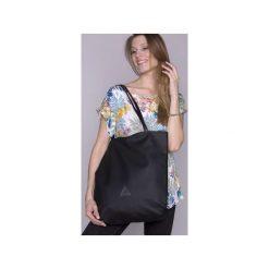 Torba basic czarna. Czarne shopper bag damskie drops, z bawełny. Za 135,00 zł.
