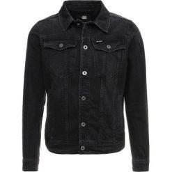 GStar 3301 DECONSTRUCTED 3D SLIM JKT Kurtka jeansowa higa black denim/medium aged rinsed. Czarne kurtki męskie bomber G-Star, m, z bawełny. Za 699,00 zł.